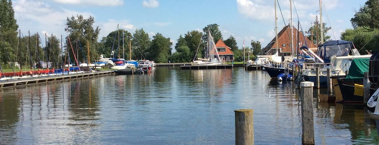 Jachthaven in Friesland
